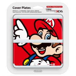 Cover Plates New Nintendo 3DS Mario [ENG] (nowa) (3DS)