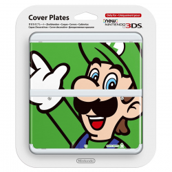 Cover Plates New Nintendo 3DS Luigi [ENG] (nowa) (3DS)