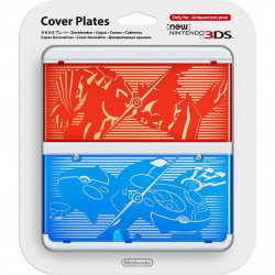 COVER PLATES NEW NINTENDO  3DS POKEMON(nowa)