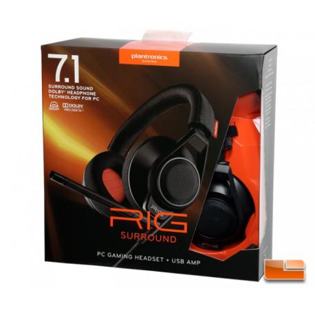 Rig Surround PCGamingHeatSet 7.1 Surround System [ENG] (nowa) (PS4)