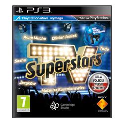 TV SUPERSTARS [PL] (Używana) PS3