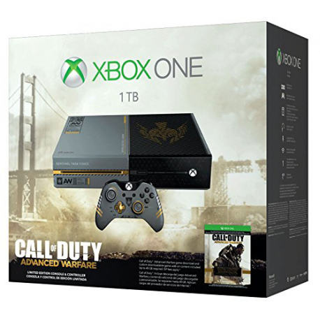 Xbox One 1TB CALL OF DUTY ADVANCED WARFARE Edition  (nowa)