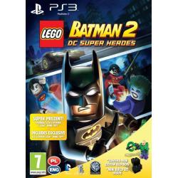 LEGO BATMAN 2 DC SUPER HEROES +MINI ZESTAW KLOCKÓW LEGO [POL] (nowa) (PS3)