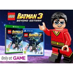 LEGO BATMAN  3 BEYOND GOTHAM  +MINI FIGURKA  PLASTIK MAN  [POL] (nowa) PS4