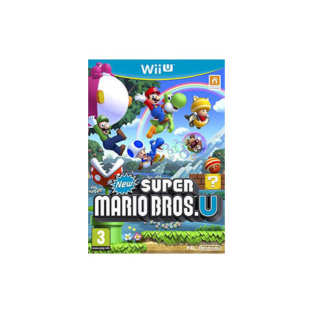 New Super Mario Bros. U [ENG] (nowa) (WiiU)