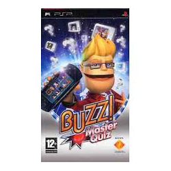 Buzz! Master Quiz PL (używana) (PSP)