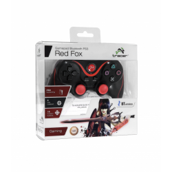 GAMEPAD PS3 TRACER RED FOX [Inny] (nowa) (PS3)