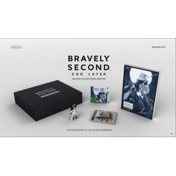 BRAVELY SECOND END LAYER DELUXE COLLECTORS [ENG] (Limited Edition) (nowa) (3DS)