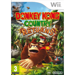 Donkey Kong Country Returns [ENG] (używana) (Wii)