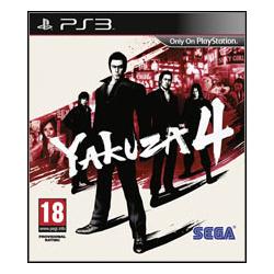 YAKUZA 4 [ENG] (używana) (PS3)