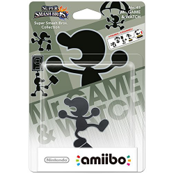 Amiibo Mr.Game and Watch nowa